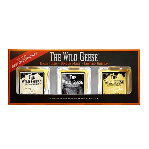 The Wild Geese Irish Whiskey gaveæske