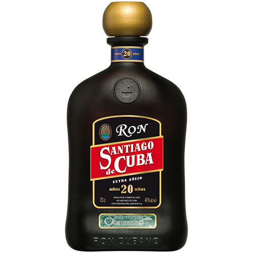Santiago de Cuba Ron Extra Anejo 20 år