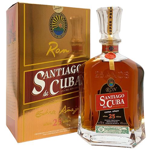 Santiago de Cuba Ron Extra Anejo 25 år