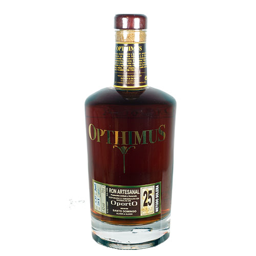 Opthimus barricas de Oporto Finish 25 år 43% 70cl, Dominikan