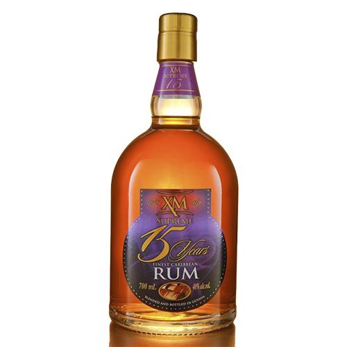 XM Guyana Rum Supreme 15 år