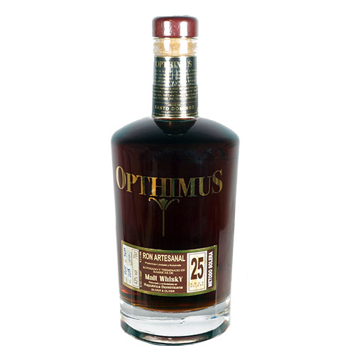 Opthimus Malt Whisky Finish 25 år - Dominikanske Republik