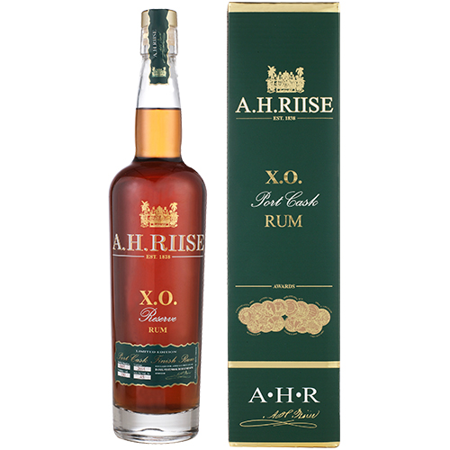 A.H. Riise Port Cask Finish Rum Reserve rom fra Saint Thomas