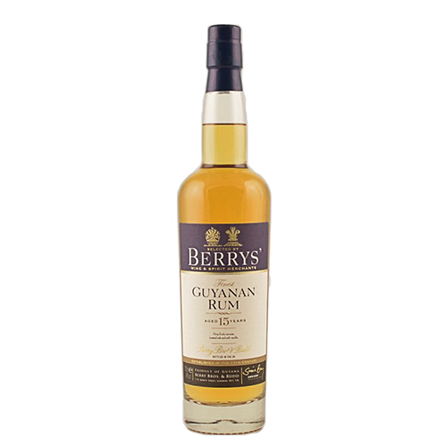 Selected by Berry's Finest Guyanan Rum 15 år - #71