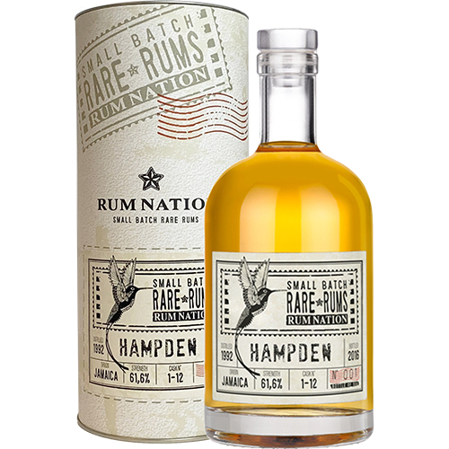 Rum Nation Rare Rums - Hampden (1992-2016) 24 år