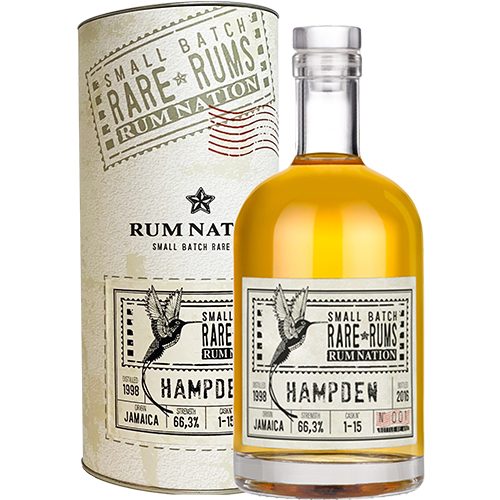 Rum Nation Rare Rums - Hampden (1998-2016) 18 år¤
