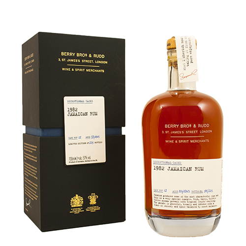 Berry's Exceptional Casks 1982 Rum from Jamaica 33 år
