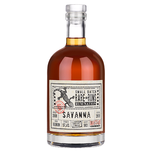 Rum Nation Rare Rums - Savanna (2008-2018) 10 år