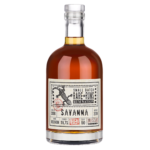 Rum Nation Rare Rums - Savanna (2006-2018) 12 år