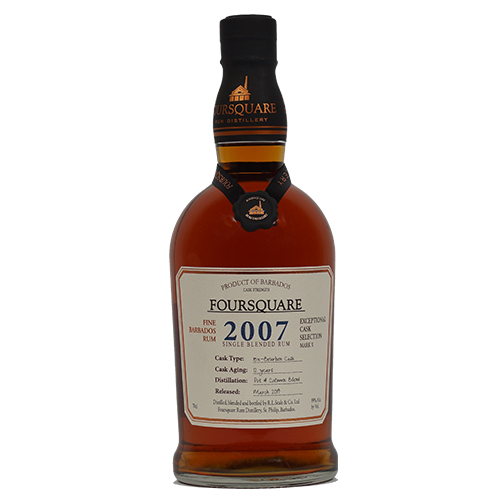 Foursquare Rum Cask Strength 2007