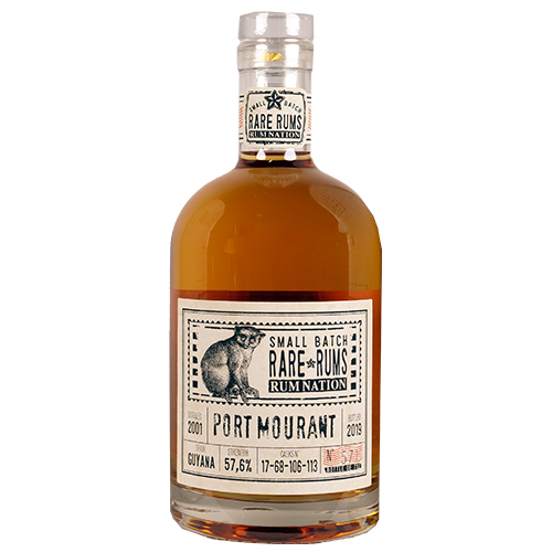 Rum Nation Rare Rums - Port Mourant 2001-2019