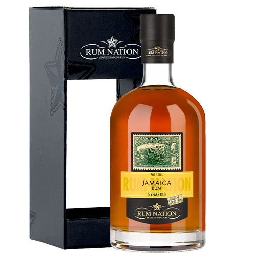 Rum Nation - Jamaica 5 år Pot Still -Sherry Finish - 2019