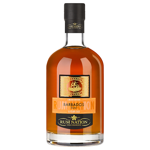 Rum Nation - Barbados 8 år- Release 2019