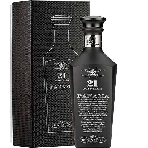 Rum Nation - Panama 21 år Black Decanter